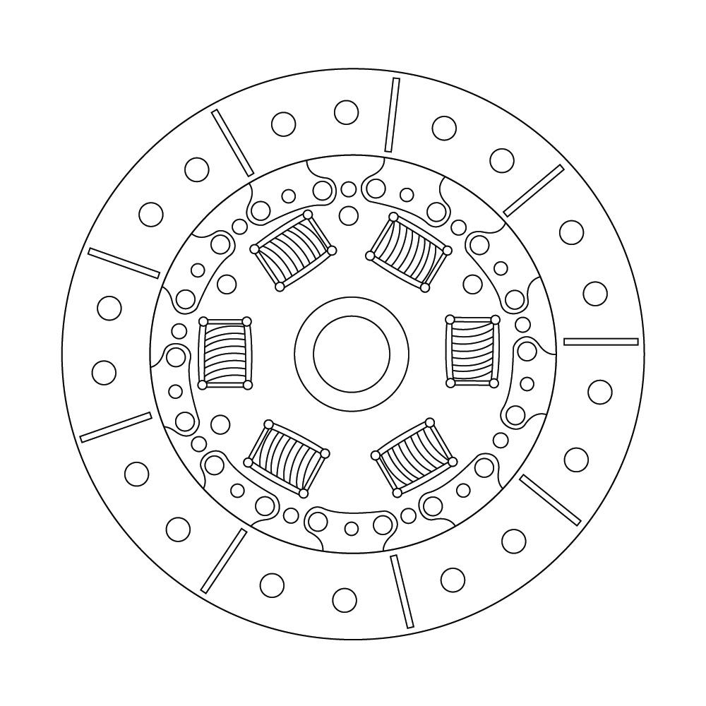 toyota matrix clutch friction disc  replace  transmission