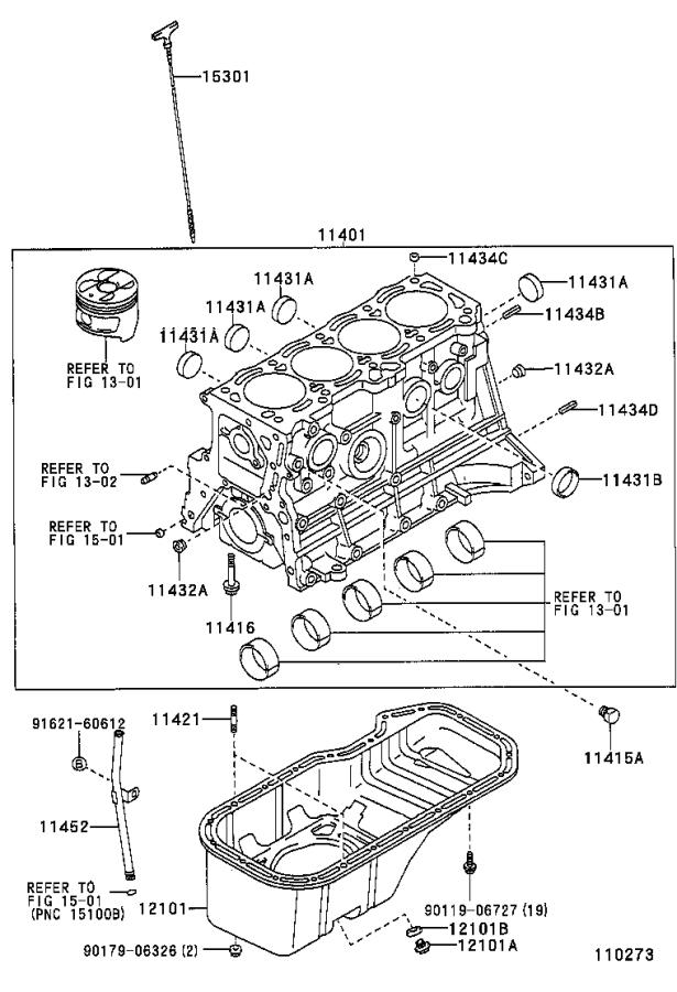 Toyota Corolla Pan Sub-assembly  Oil  Engine