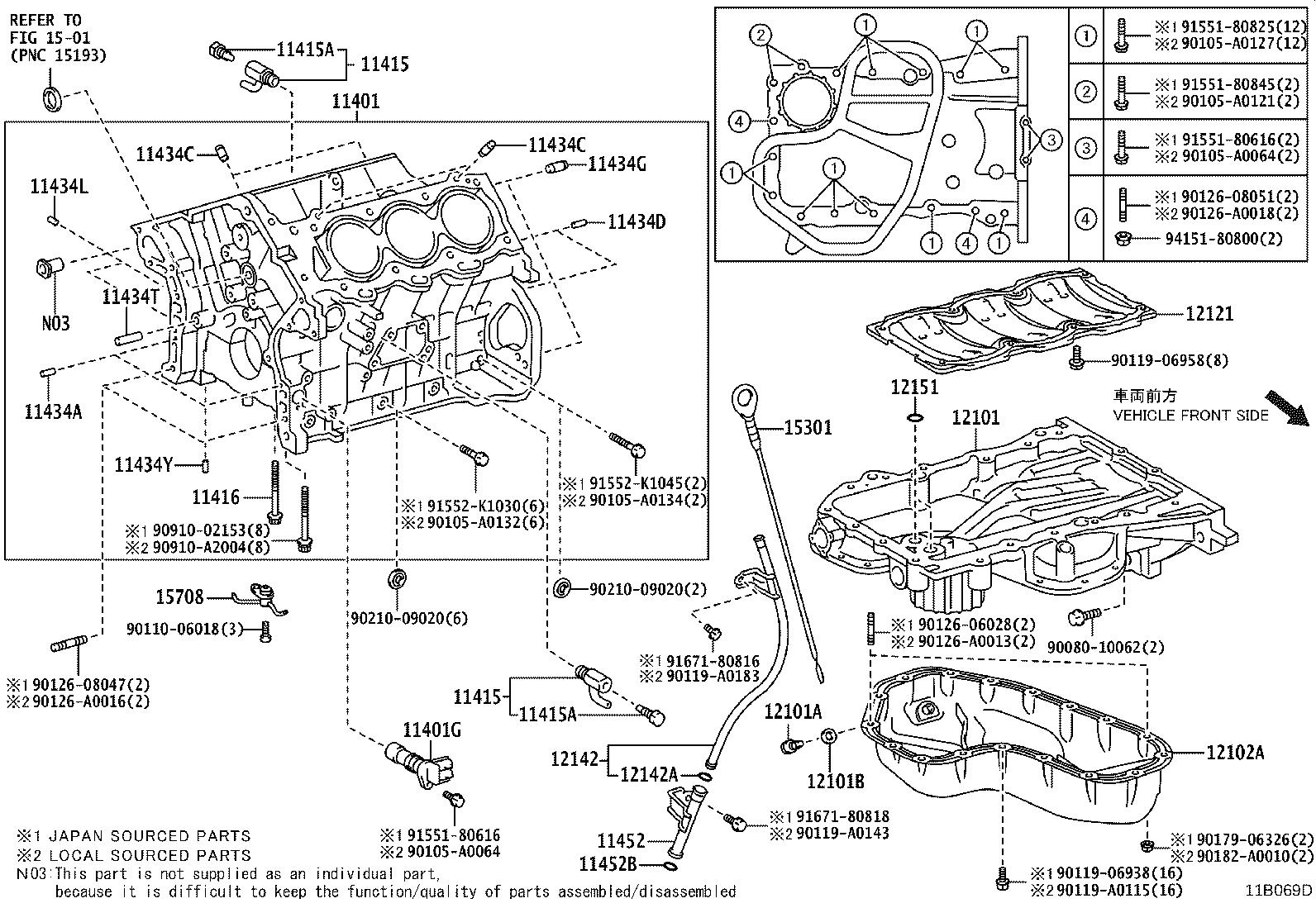 Toyota Avalon Engine Crankshaft Position Sensor  Intermittently  Die  Combustion