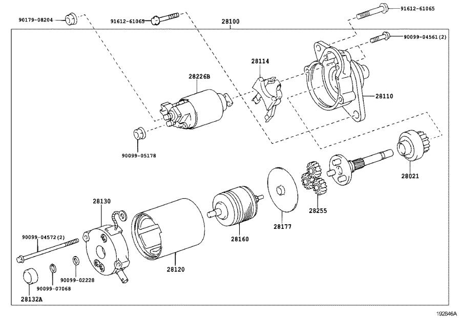 Scion Xd Starter Motor  Engine
