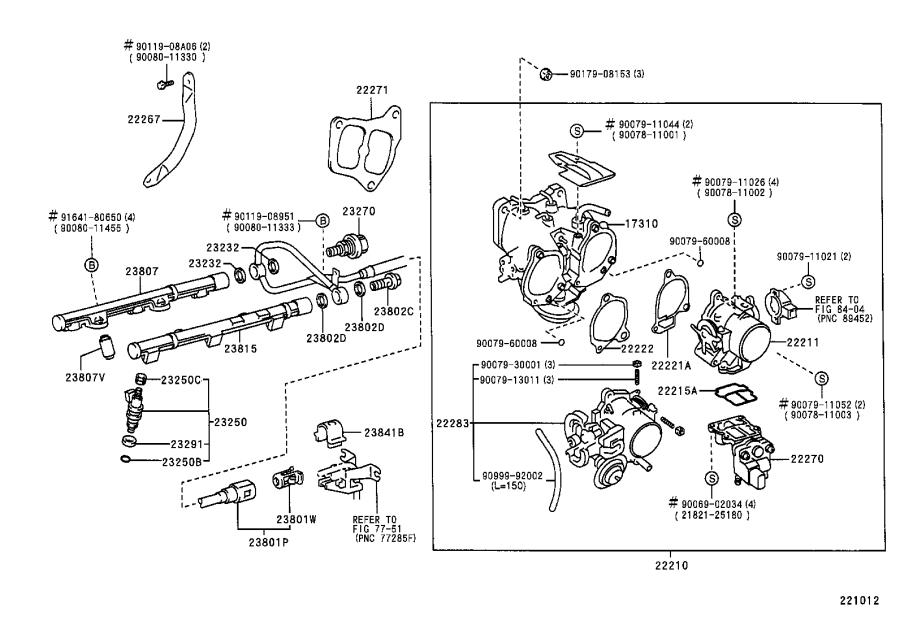 Toyota Sienna Fuel Injection Pressure Regulator  A Device To Control The Pressure Of The