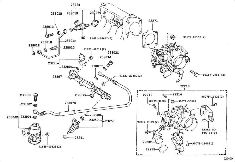 toyota corolla fuel pump mounting bracket  system  injection