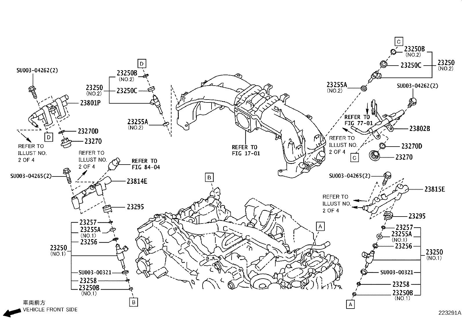 Toyota 86 Fuel Injection Throttle Body  System  Make