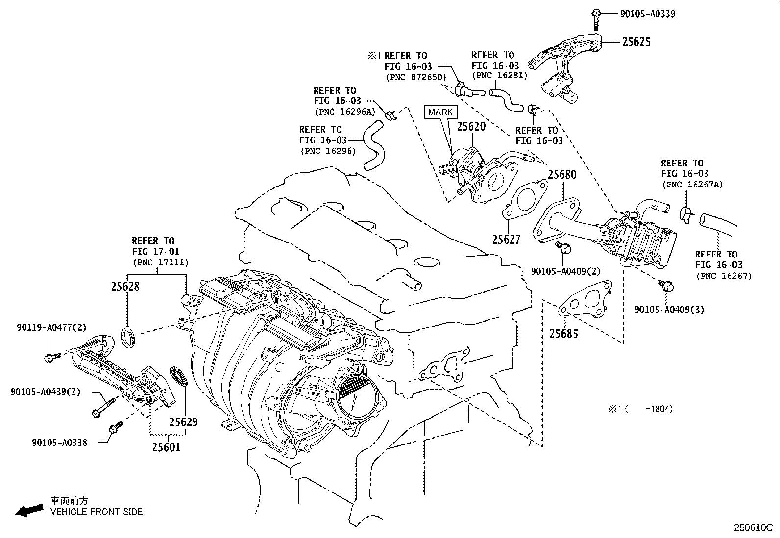 33 2003 Toyota Camry Exhaust System Diagram