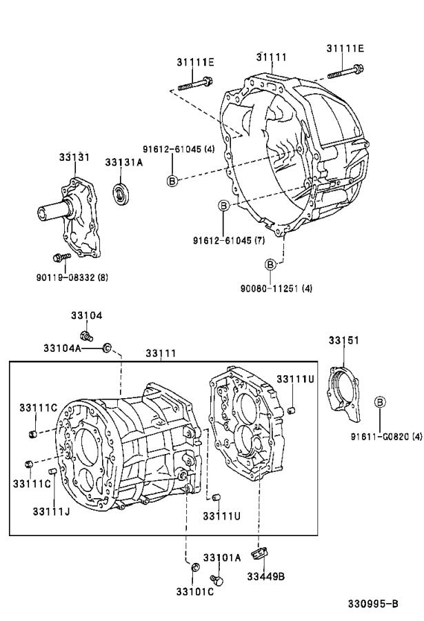 Toyota Tundra Case  Manual Transmission  Mtm  Driveline