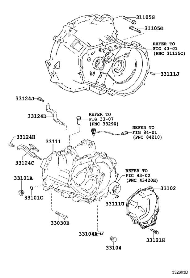 Toyota Yaris Case  Manual Transmission  Mtm  Frp