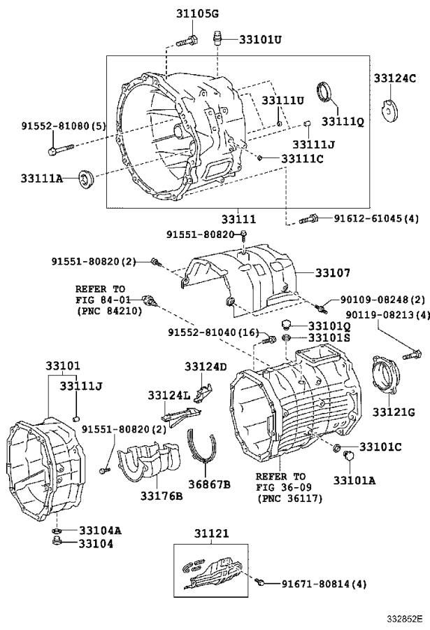 Toyota Fj Cruiser Case  Manual Transmission  Mtm