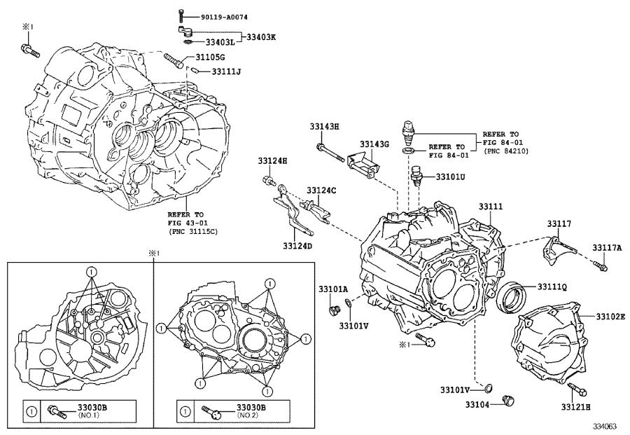 Toyota Corolla Protector  Manual Transmission Case  Mtm
