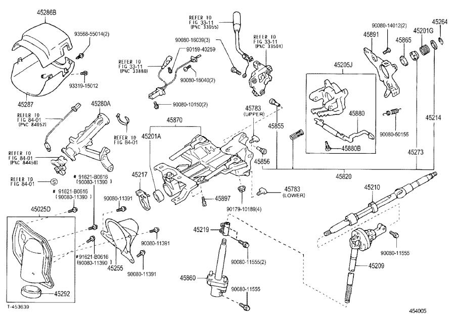 Toyota Tundra Steering Shaft  Shaft  Steering Intermediate  Shaft  Steering Main