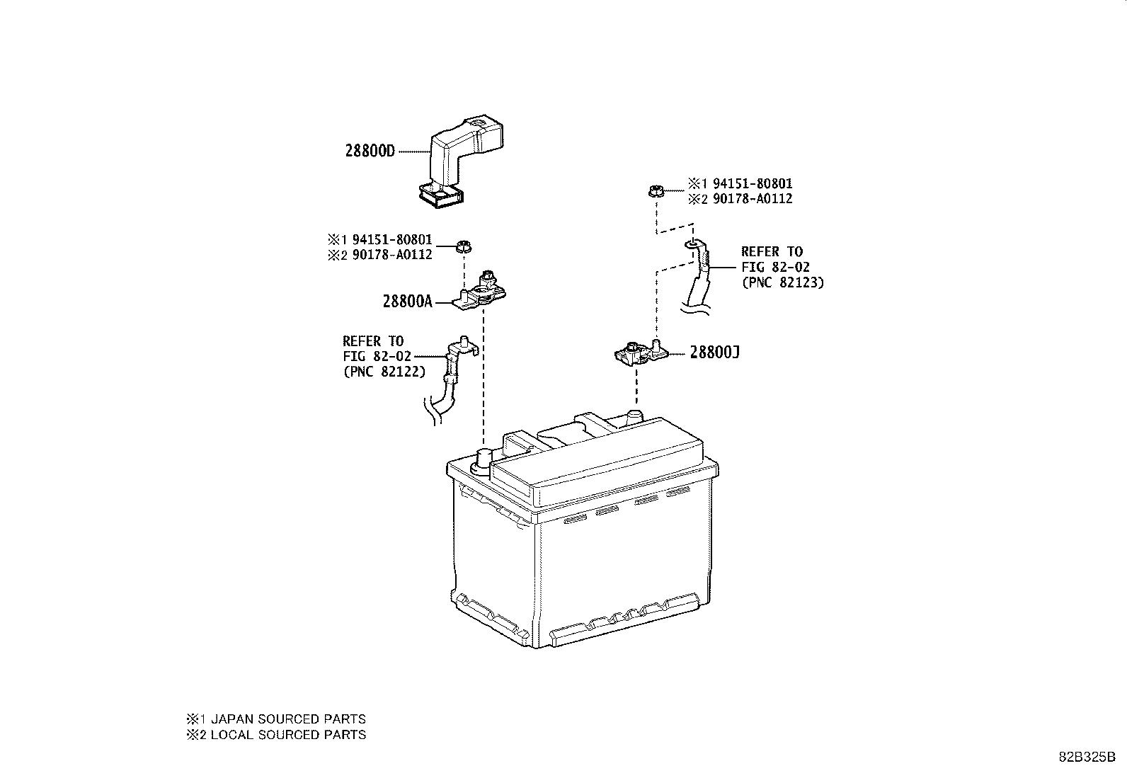 toyota camry headlight wiring diagram toyota camry battery wiring toyota camry computer assembly, battery. electrical ...
