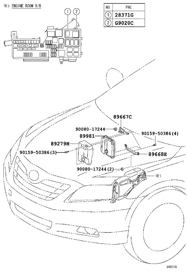 toyota camry engine control module  electrical  computer