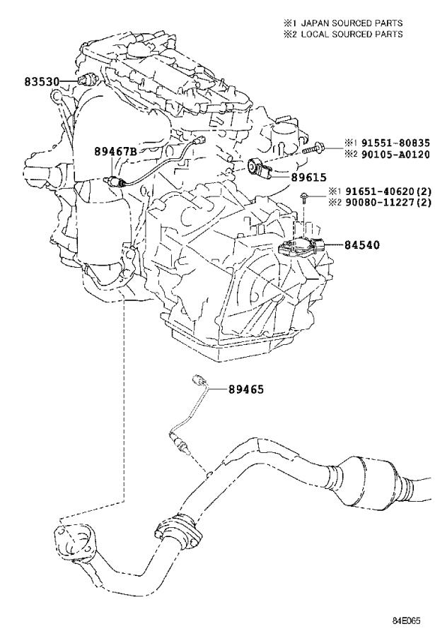 toyota rav4 air bag clockspring  cable  spiral with sensor  without  electrical