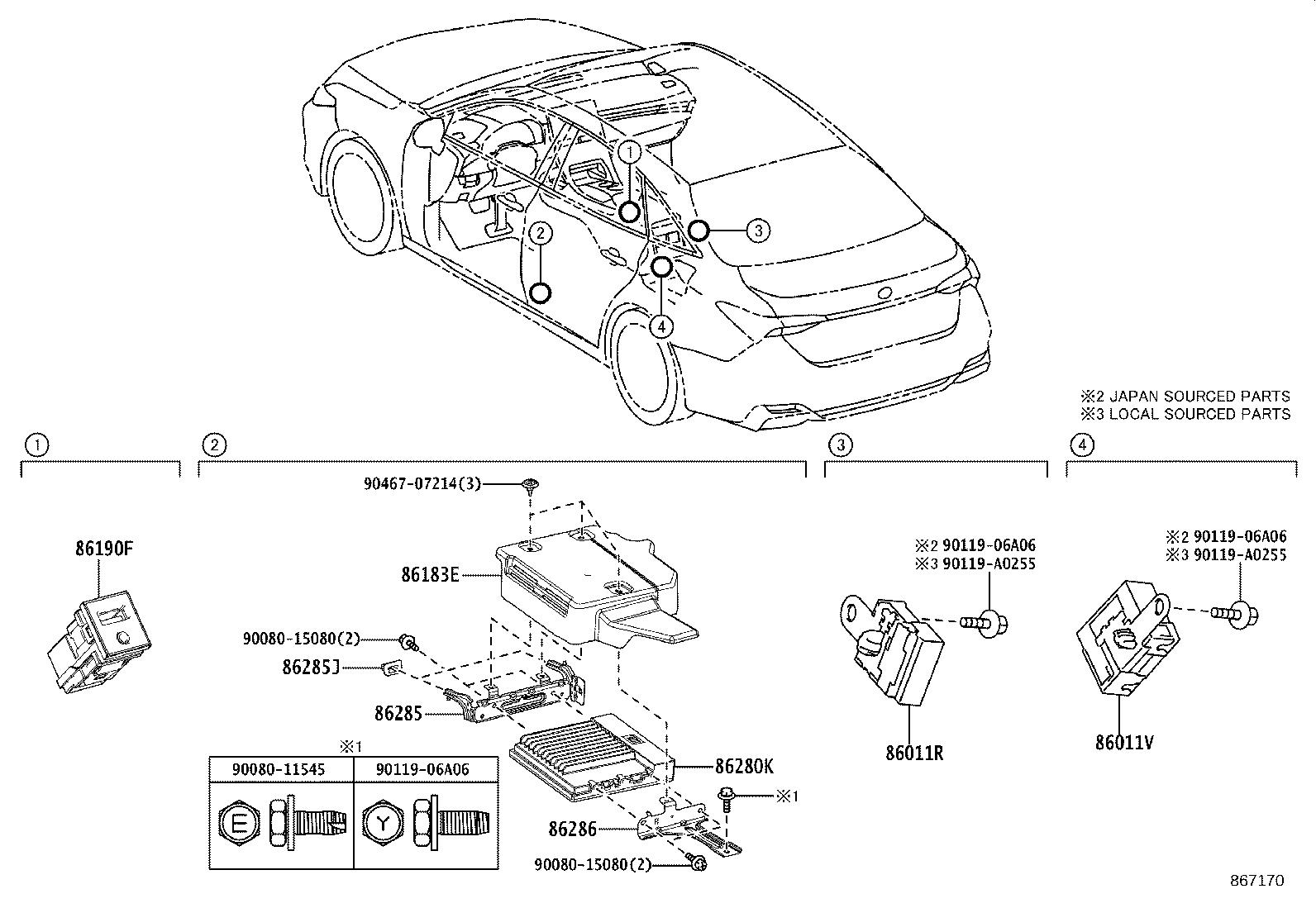 27 1995 Toyota Avalon Radio Wiring Diagram