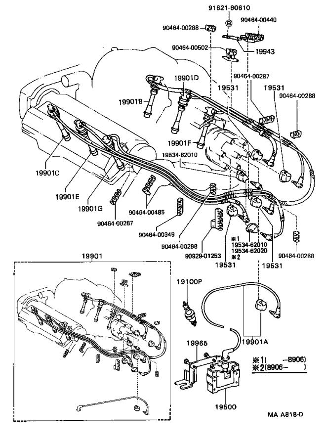 toyota camry ignition coil  engine