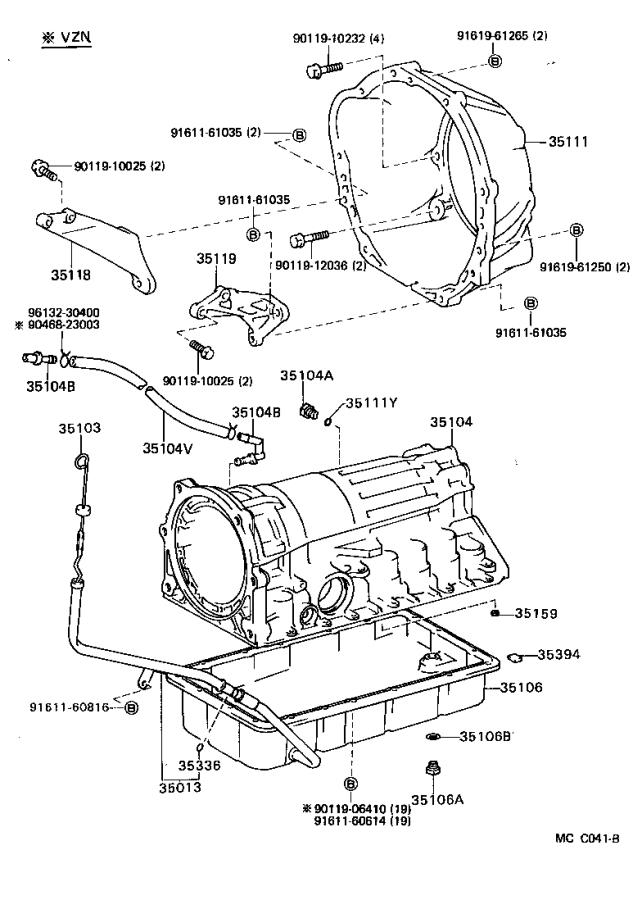 A Mcc B on Toyota Part 151 Transmission Diagram