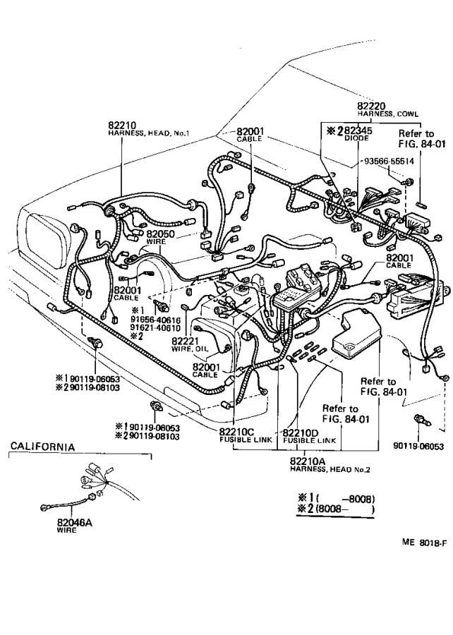 toyota tercel wire  headlamp repair  electrical  wiring