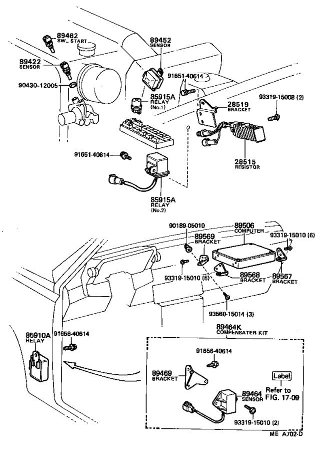 Toyota Celica Throttle Position Sensor Electrical