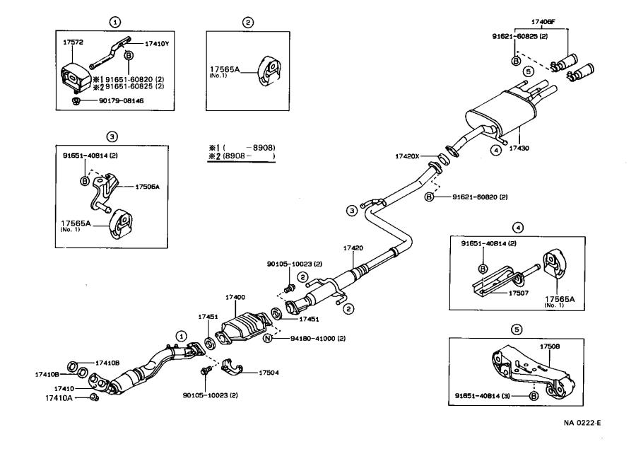 31 Toyota Corolla Exhaust System Diagram