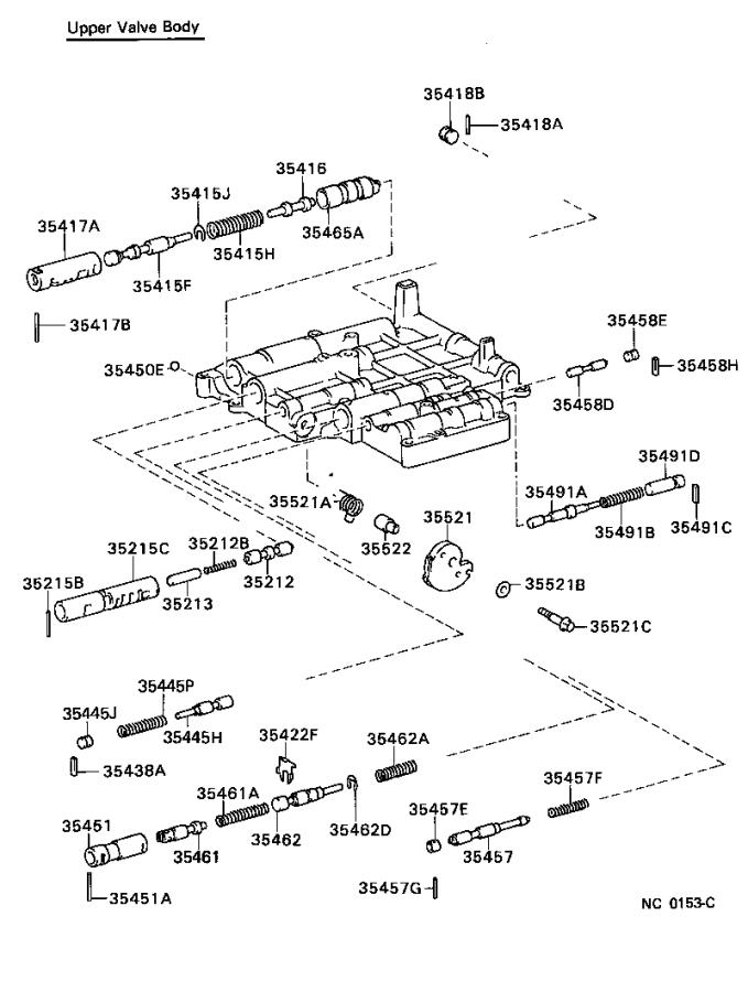 Toyota Corolla Transmission Filter  Atm  Gts  Cnd