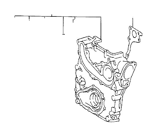 toyota t100 case sub-assembly  timing gear  engine