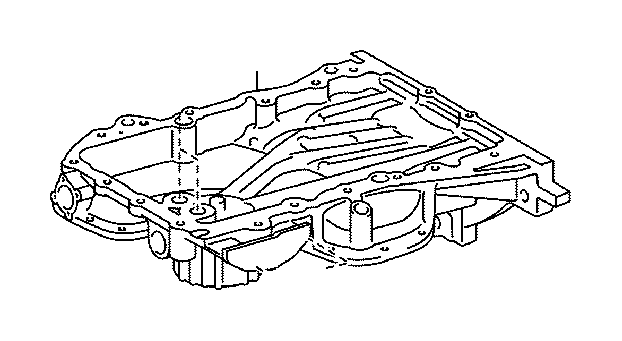 toyota camry engine oil pan