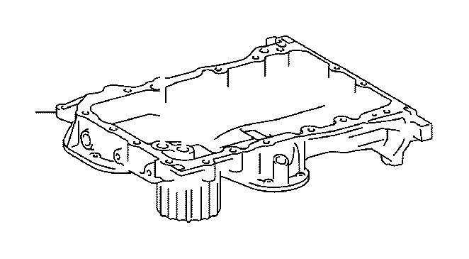 toyota sienna engine oil pan
