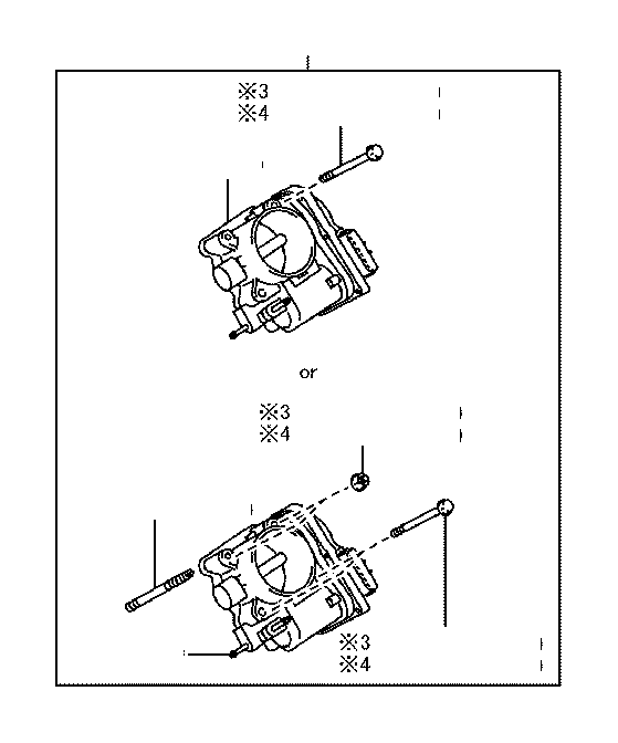Toyota Corolla Fuel Injection Throttle Body  System  Make