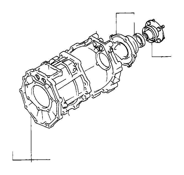 Toyota Carrier Sub Assy Rr Partnumber 4230520240: Toyota Truck Flange Sub-assembly, Output Shaft Companion