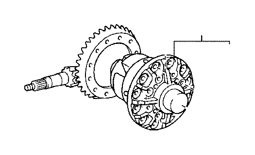 Toyota Tacoma Differential Carrier  Rear   Differential
