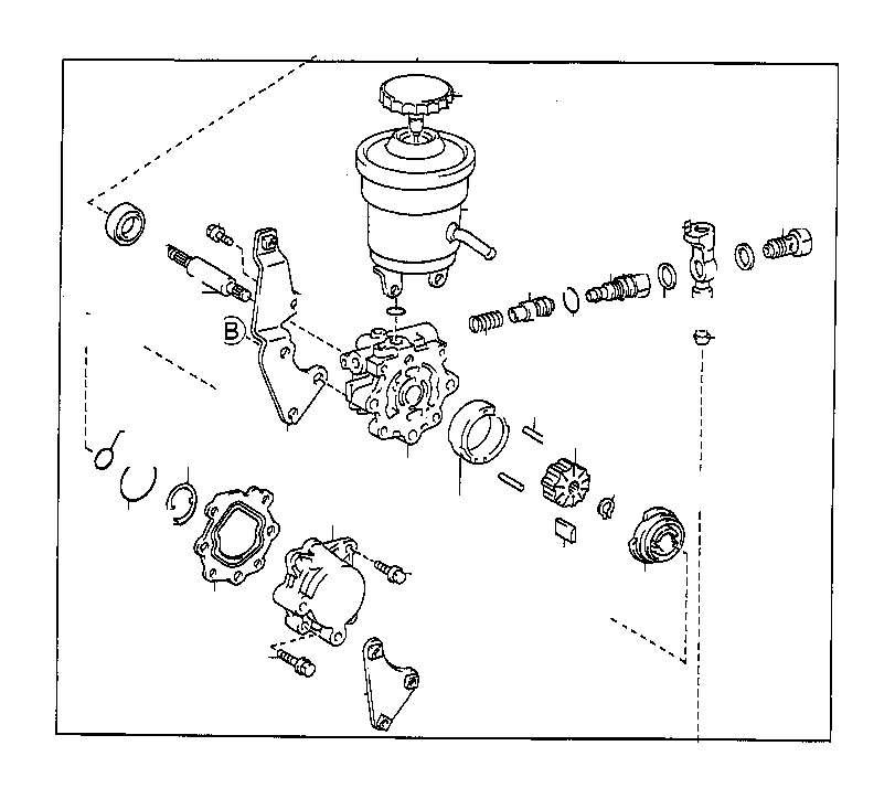 toyota corolla valve assembly  flow control  suspension