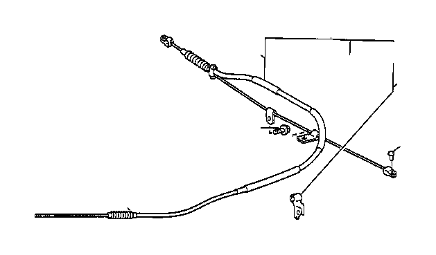 toyota tacoma parking brake cable  replace  assembly  brakes