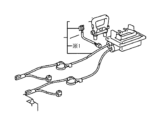 toyota rav4 plug assembly  electric vehicle battery  electrical  cable