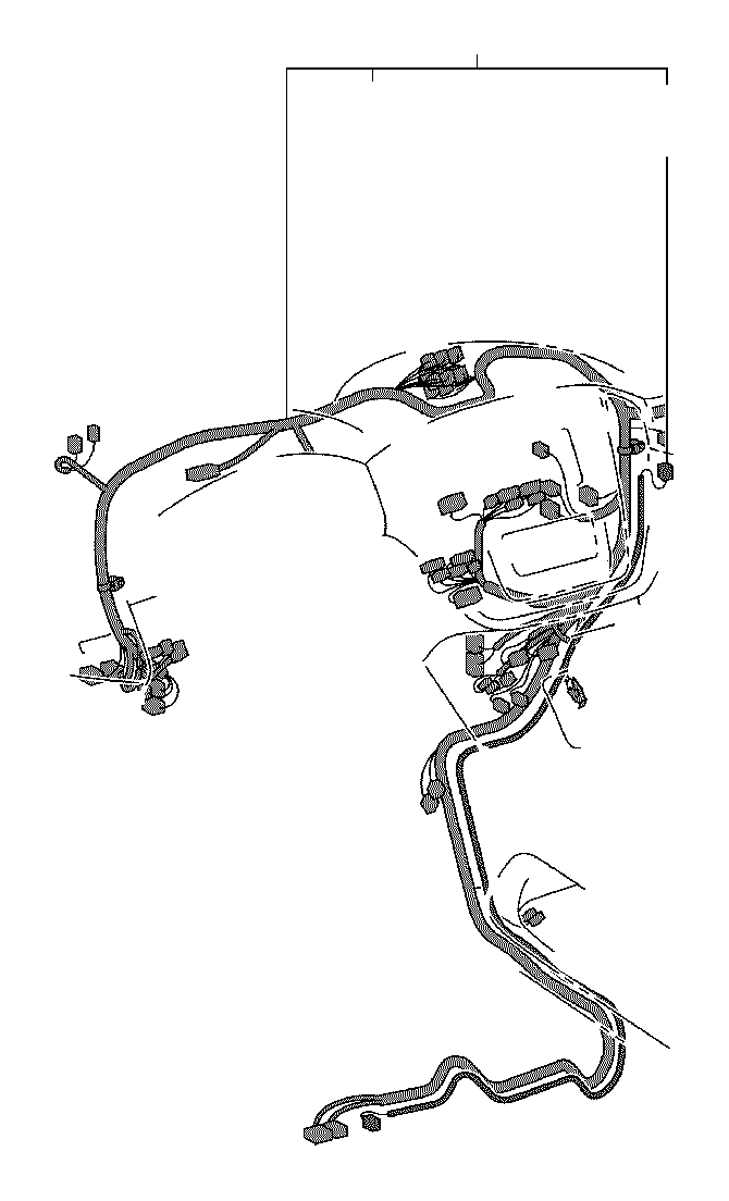 toyota highlander wire  instrument panel  electrical