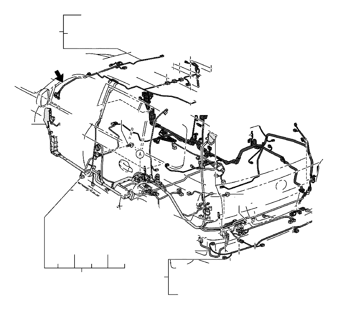Toyota Land Cruiser Wire  Roof  No  1  Electrical  Wiring