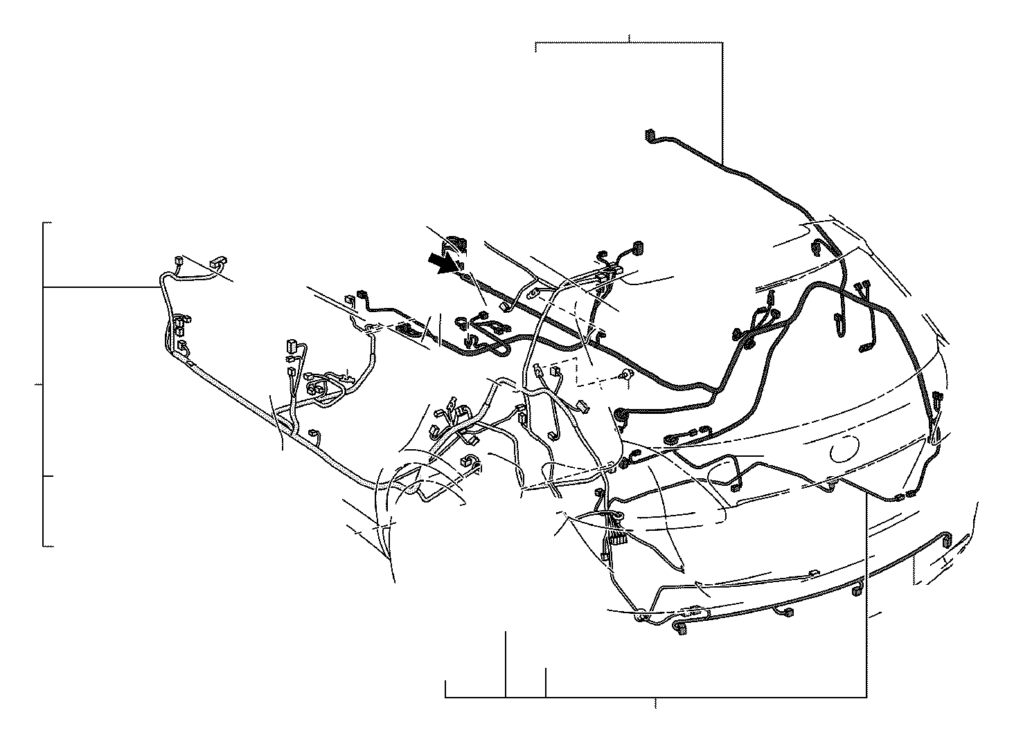 toyota venza wire  floor  no  3  electrical  discharge  wiring