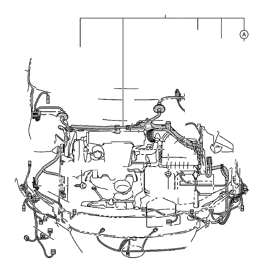 toyota camry wire  engine room ma  electrical  wiring