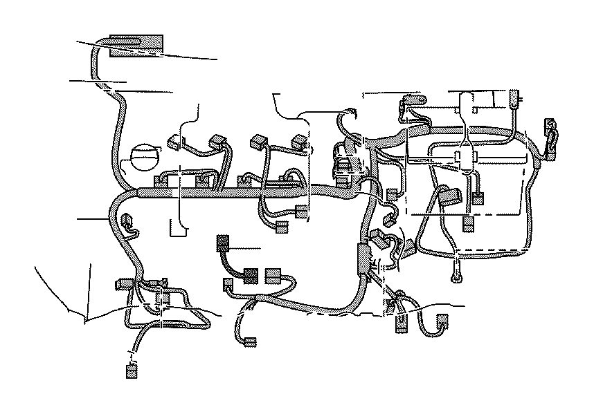 toyota yaris wire  engine  electrical  wiring  clamp