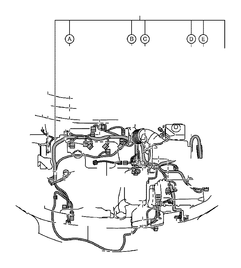 Toyota Camry Wire  Engine  No  4  Wiring  Electrical