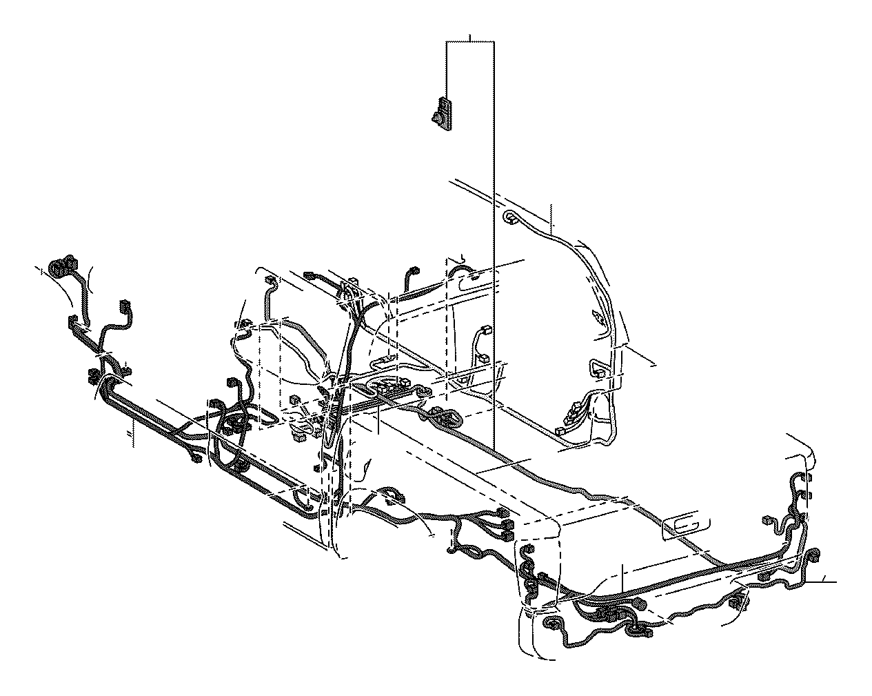 toyota tacoma wire  floor  electrical  wiring