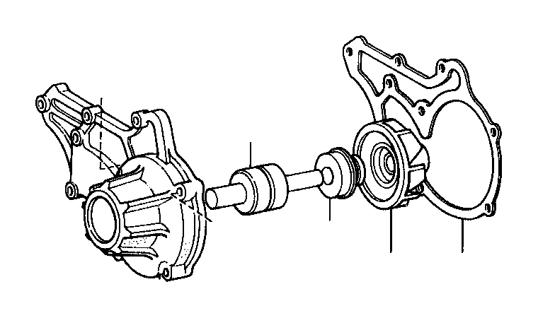 toyota celica bearing  water pump  engine
