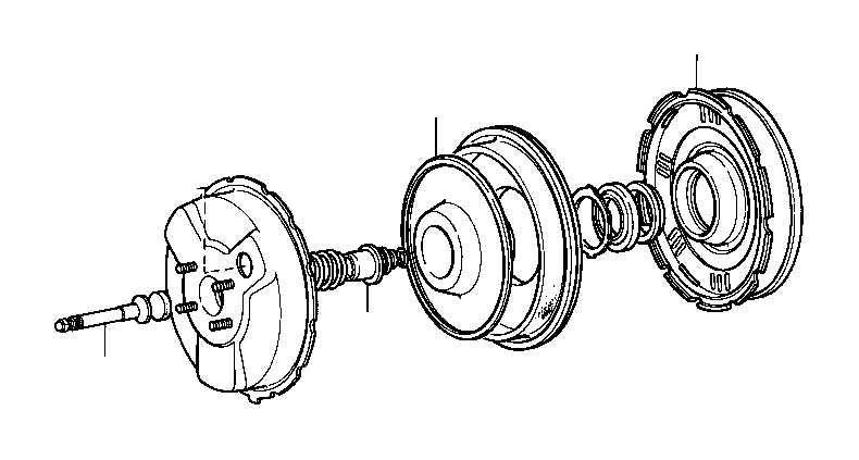 toyota land cruiser hub  booster reaction disk  brakes