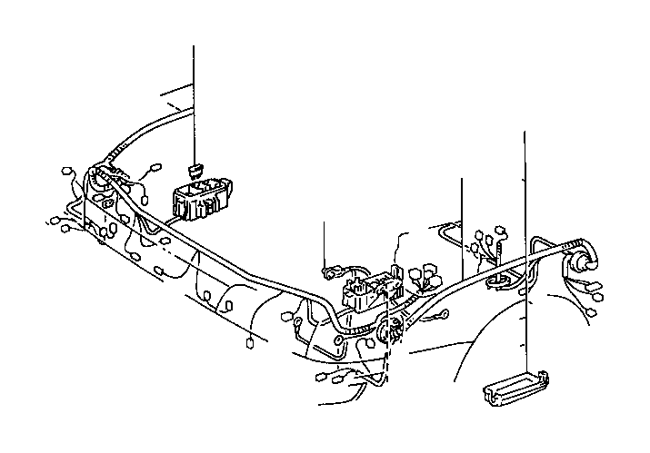 toyota corolla wire  engine  no  3  wiring  electrical