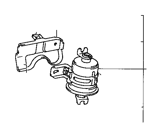 toyota truck fuel filter  filter  fuel  for efi   system  injection
