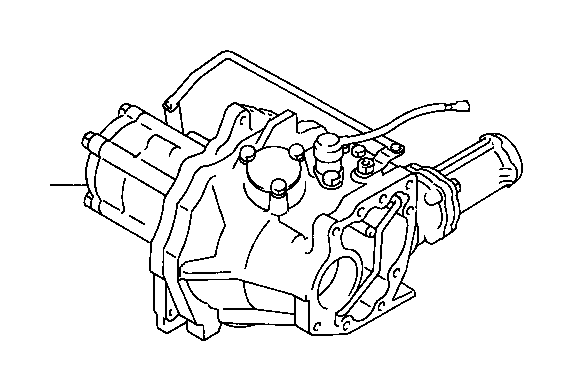 toyota rav4 transfer assembly  driveline  transmission